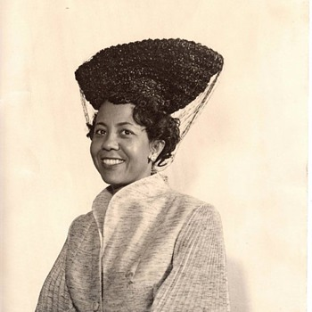 Ethel Pye: 1940's Walter Florell hat. Florell hats are in The Metropolitan Museum of Art.