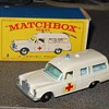 "Matchbox Mercedes Benz ""Binz"" Ambulance"