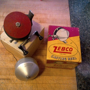 Zebco origonal reel with box - Fishing
