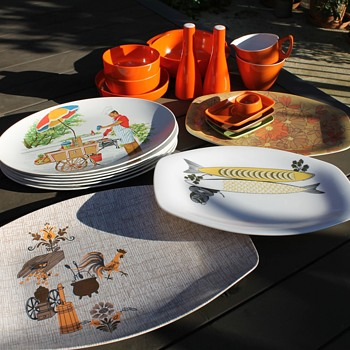 Marvelous melamine! - Kitchen