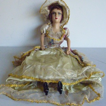 Can anyone tell me about this doll?  - Dolls