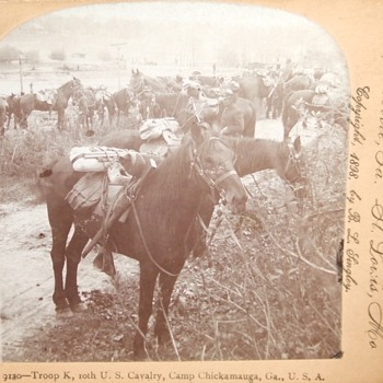Spanish American War/ Phillipine Insurrection stereoviews c. 1898