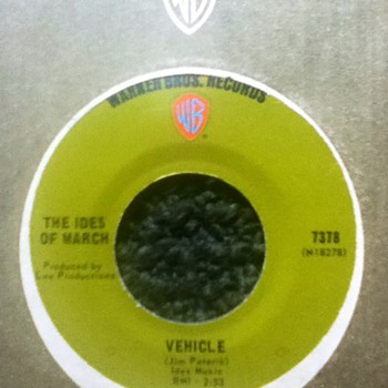 The Ides of March 45 Record - Records