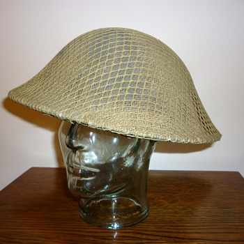 British Officers Private Purchase steel helmet WW11 - Military and Wartime