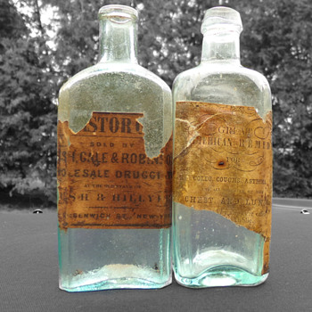 C. 1845 Great American Remedy  - Bottles
