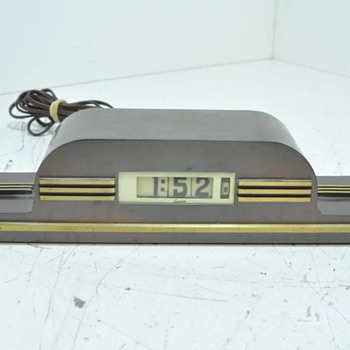 Lawson Clock New Yorker - Art Deco