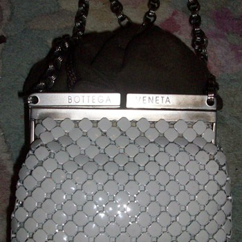 Vintage Metal Bottega Veneta Purse