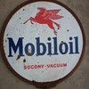 Mobil Oil Lollipop Sign