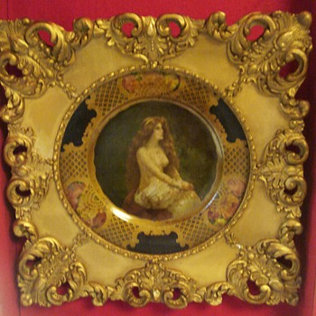 1905 COCA-COLA NUDE TRAY VIENNA ART