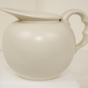 Matt White Creamer?  - Art Pottery