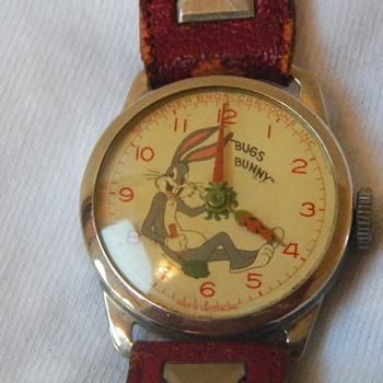 1951 Bugs Bunny Wristwatch - Wristwatches