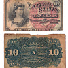 act of march 3ed 1863 10 cents confederate bill