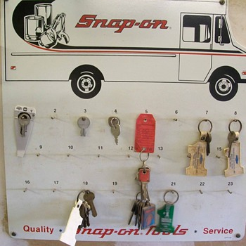 Snap-on key board - Classic Cars