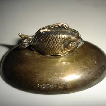 Sampson Mordan Fish - Sterling Silver
