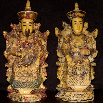 Chinese Emperor/Empress Figures