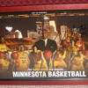 2007-08 University of Minnesota Basketball schedule poster signed by Tubby Smith