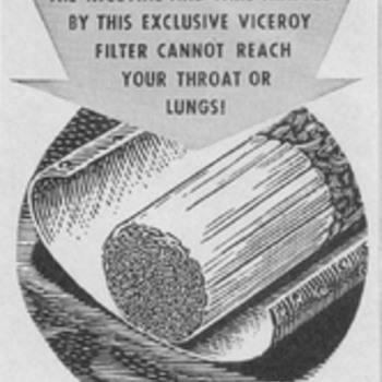 1950-1955 Viceroy Cigarette Advertisements