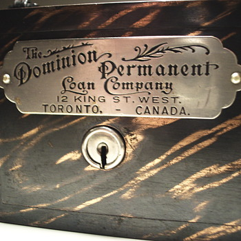 "The Dominion Permanent Loan Company""Toronto,Ontario""1900 - Coin Operated"