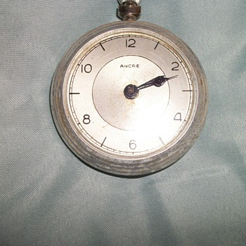 Ancre Pocket Watch (France?)