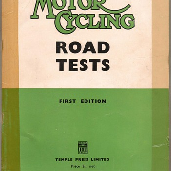 1952-1954 Motor Cycling Road Tests