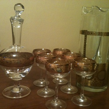 I know it is from Italy - Glassware