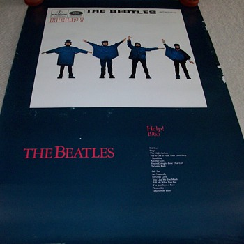 The Beatles Help Promotional Poster