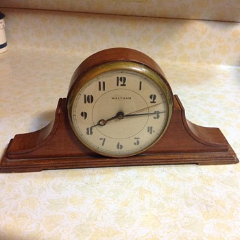 Circa 1930's Waltham electric mantle clock