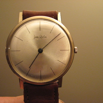 Jean Revlin wind up watch Swiss made ??? - Wristwatches
