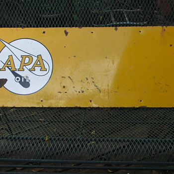 APA OIL (PRE APACHE OIL) PORCILIAN SIGN
