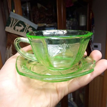 Thrift Store Depression Glass?
