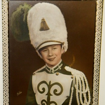 Vintage Marching Band Leader