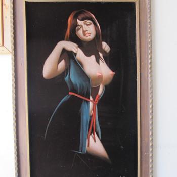 My Velvet Velvet Painting from the Club Algiers on Mission St.  - Visual Art