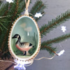 Porcelain 3D Bird Diorama Ornaments