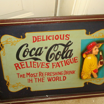 COKE -COLA SIGN - Coca-Cola