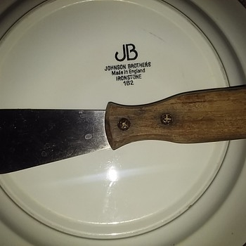 Plate And A Knife....
