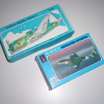 USSR Model Aircraft Kits - Toys