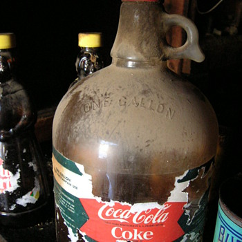 1 gallon Coke bottle - Coca-Cola