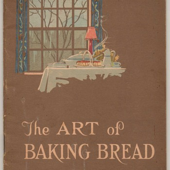 1932 - The Art of Baking Bread - Magic Yeast - Books