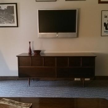 Dresser to mid century Credenza