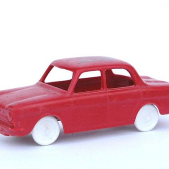voiture en plastique - SESAME SIMCA 1000 - Model Cars