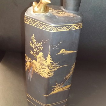 Whistling Bird Sake Bottle ? - Asian