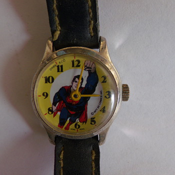 1977 Dabs & C0. Superman Wrist Watch