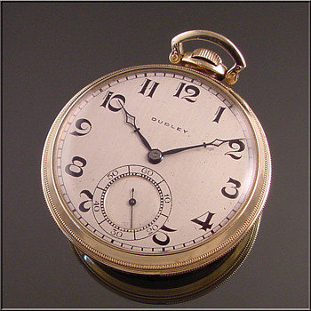 Dudley Model #3 Masonic Pocket Watch