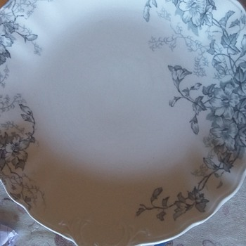 Wood and son doverdale semi porcelain plate
