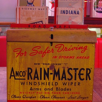 Anco...Rain-Master...Wiper Cabinet and Maps