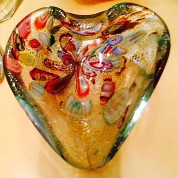 Vintage Murano Bowl - Art Glass