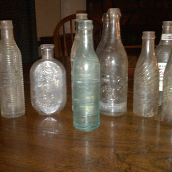 some of mine ive found over 30 years - Bottles