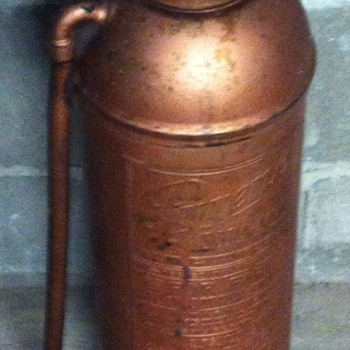 Pyrene fire extinguisher.