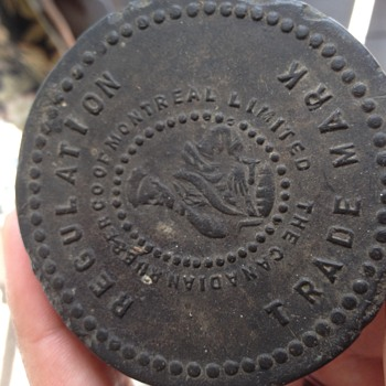 Old hockey puck found in barn