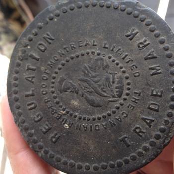 Old hockey puck found in barn  - Hockey
